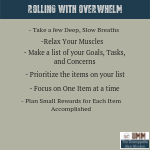 Rolling with Overwhelm