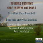 The link between Positive Self Esteem and Relationships